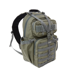Mega Transformer Sling Bag - Khaki Foliage