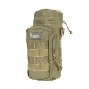 Bottle & Lens Holder 10x4 with D-ring - Khaki