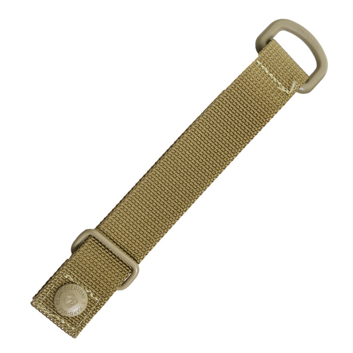 "5"" D-ring MolleTie - Khaki"