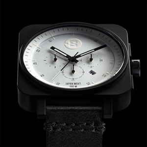 Square Chrono - Black / White