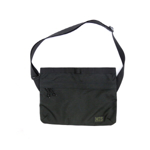 Padded Shoulder Bag - Black