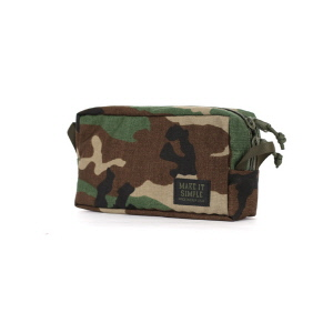 Slim Mesh Multi Bag - Woodland Camo