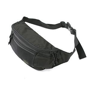 Mesh Waist Bag - Black