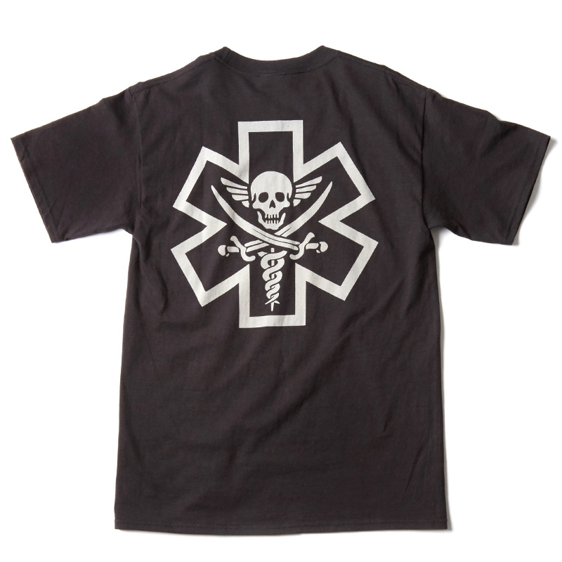 Tac-Med Pirate T-shirt - Black