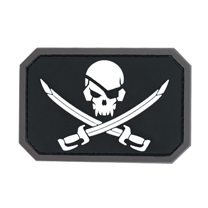 Pirate Skull PVC - SWAT
