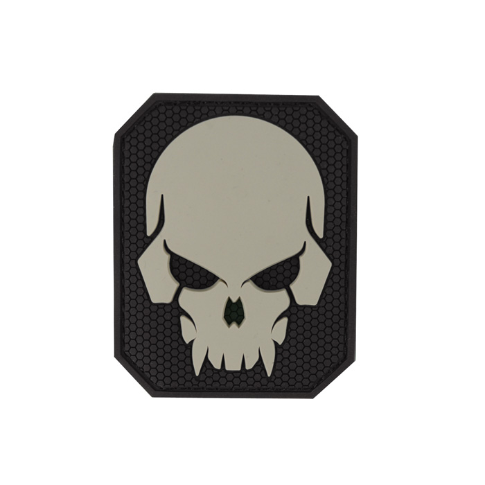 Pirate Skull Large PVC - SWAT