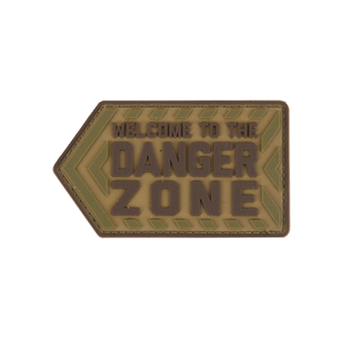 Danger Zone PVC - Multicam