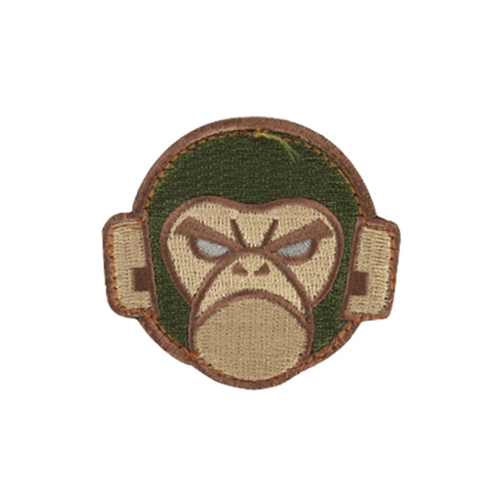Monkey Head Logo - Forest