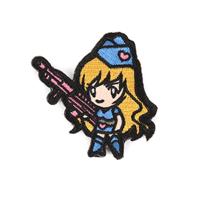 보초병 소녀 - Blue