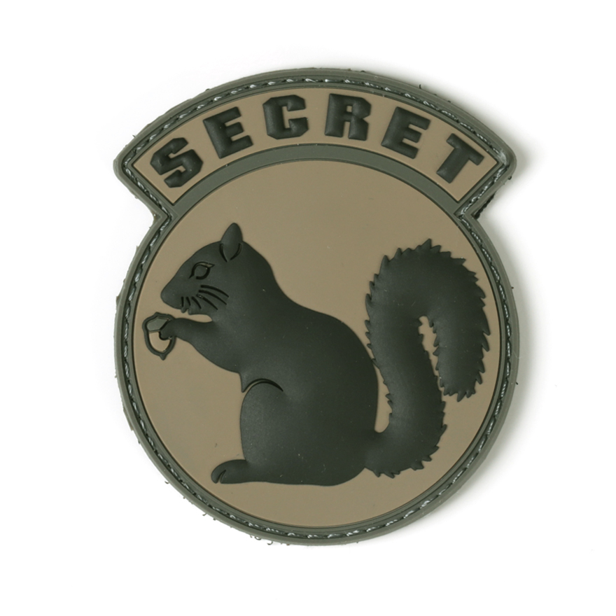 Secret Squirrel PVC - ACU-Dark