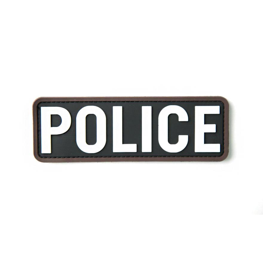 POLICE 6x2 inch PVC - SWAT