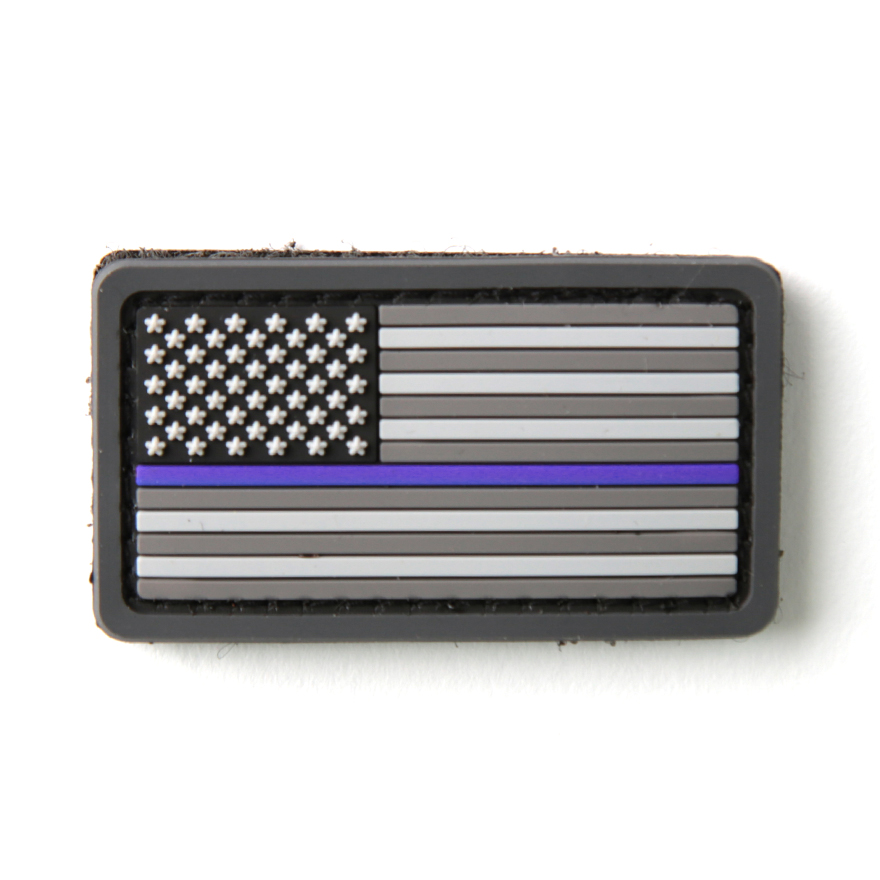 US Flag PVC Thin Blue Line - Urban