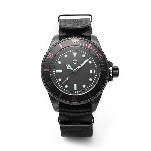24 Jewel PVD 300m Automatic Military Divers Watch