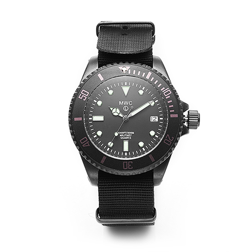 300m / 1000ft PVD Steel Military Divers Watch (Quartz)