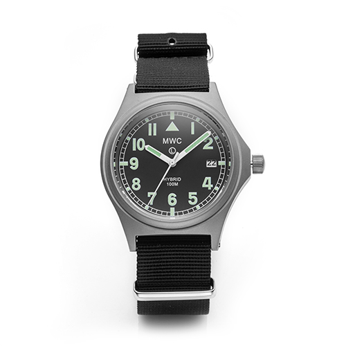 G10 100m Hybrid Powered Titanium Military Watch with Super Luminova