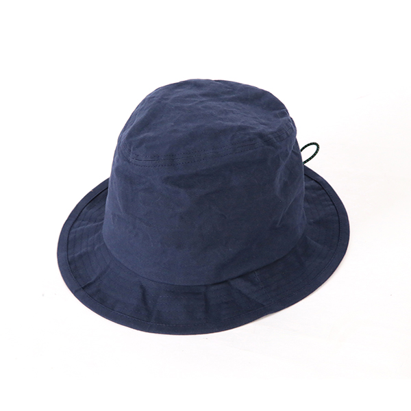 Paraffin Cord Hat - Navy