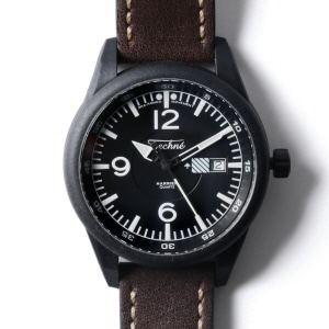 Harrier 367 Carbon - Leather Chestnut PVD