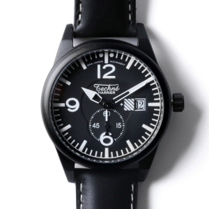 Harrier 388 Aero Al - Leather Black PVD