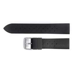 Nitrile Rubber Strap - Black 20mm