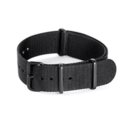 Nato Strap PVD - Black 20mm