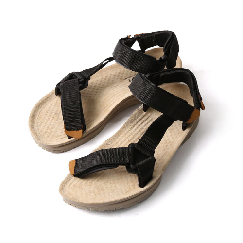Terra Army Sandal - Black