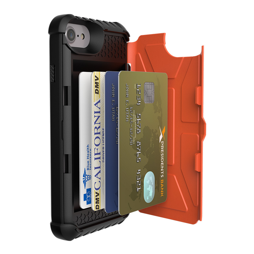 iPhone 7/6S Card - Orange