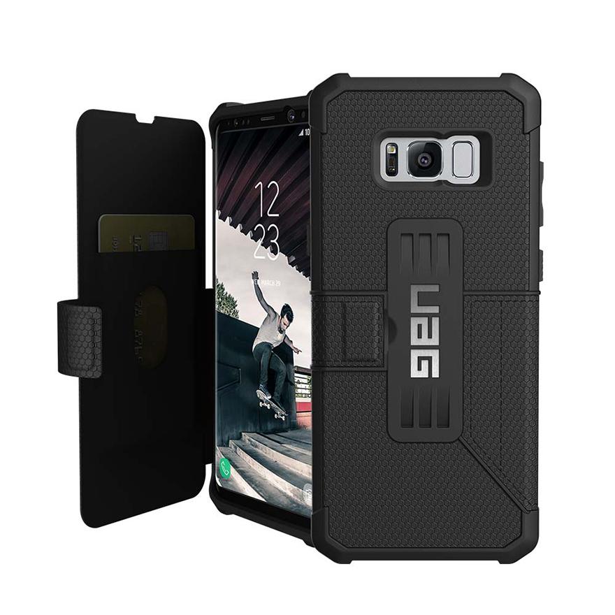 갤럭시 S8플러스 메트로폴리스 케이스 - Black